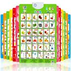 Baby Kids Alphabet Fruit Sound Wall Chart Early Learning Educational Poster Toys