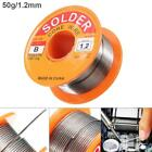 63 37 Tin Lead Rosin Core Solder Wire for Electrical Solderding 50g 1.2 1.5 2mm
