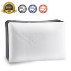 NEW BAMBOO PILLOW - Non Shredded, Memory Foam - Includes Bamboo Washable Cover