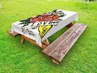 Romantic Rose Outdoor Picnic Tablecloth Ambesonne in 3 Sizes Washable Waterproof