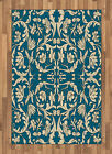 Retro Design Area Rug Flat Woven Accent Rug Home Decoration 2 Sizes by Ambesonne