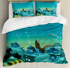 Lively Retro Duvet Cover Set Twin Queen King Sizes with Pillow Shams