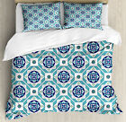 Spanish Duvet Cover Set Twin Queen King Sizes with Pillow Shams