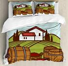 Alcohol Duvet Cover Set Twin Queen King Sizes with Pillow Shams