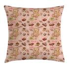 Retro Drawing Throw Pillow Cases Cushion Covers Home Decor 8 Sizes Ambesonne