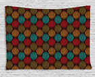 Earthy Tones Tapestry Wall Hanging Form Bedroom Dorm Room Decor 2 Sizes