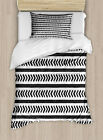 Abstract Ornament Duvet Cover Set Twin Queen King Sizes with Pillow Shams