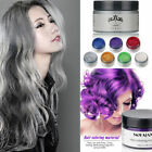 Silver Colourful Grey Hair Wax Men Women Dye Gray Mud Pomade styling Maker Tools