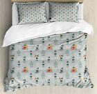 Gnome Duvet Cover Set Twin Queen King Sizes with Pillow Shams