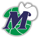 Dallas Mavericks NBA Basketball Hat Logo Car Bumper Sticker - 3'' or 5'' on eBay