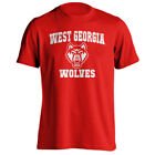 University of West Georgia Wolves UWG Retro Distressed Logo Short Sleeve T-Shirt