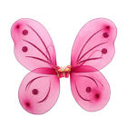 Fun Glitter Rainbow Butterfly Wings Kids Party Costume Accessories