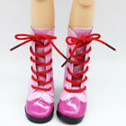 1 Pair PU 60cm Doll Shoes Boots Educational Play Toys Accessories Games Red