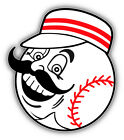 Cincinnati Reds MLB Baseball Head  Car Bumper Sticker Decal  - 9'', 12'' or 14'' on Ebay