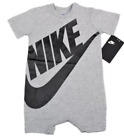Nike Futura Infant Boy All Day Play SS Romper Pick Size & Color NWT
