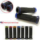 "BLUE MOTORCYCLE HAND GRIPS 7/8"" HANDLE BAR FIT FOR KAWASAKI SUZUKI HONDA YAMAHA $9.45 USD on eBay"