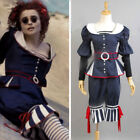 Sweeney Todd Cosplay Costume Mrs Lovett By The Sea Dress custom made tailored