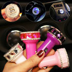 Crystal Car Dual USB Charger Adapter Led Fast Charging Device Car Phone Charger