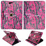 Camo P Girls H  For Asus Memo Pad 8 inch Tablet Syn Leather Case Cover 360 Rotat