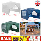 High Quality 3x3m Folding Pop Up Gazebo Marquee Garden Awning Party Tent Canopy