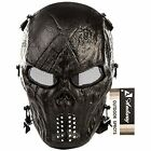 Airsoft Mask Skull Skeleton Full Face Protective Gear For Gun/ CS Game and Party