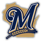 Milwaukee Brewers MLB Baseball Symbol Car  Sticker Decal - 9'', 12'' or 14'' on Ebay