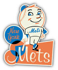 New York Mets MLB Baseball Guy  Car Bumper Sticker Decal - 9'', 12'' or 14'' on Ebay