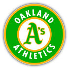 Oakland Athletics MLB Baseball Combo Logo Car Bumper Sticker - 3'' or 5'' on Ebay