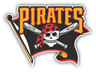 Pittsburgh Pirates MLB Baseball  Car Bumper Sticker Decal - 9'', 12'' or 14'' on Ebay