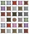Afghan Throw Pillow Cases Cushion Covers by Ambesonne Home Decor 8 Sizes