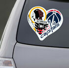 Love Washington Sports Car Sticker Decal | DC United Wizards Capitals Redskins on eBay