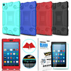 kindle fire hd case amazon - For Amazon Kindle Fire HD 8 2017 7th Gen Tablet Silicone Case + Screen Protector
