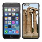 Hard Phone Case Cover Skin For Apple iPhone Ruins of temple of Zeus