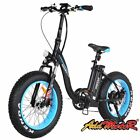 Addmotor MOTAN Electric Bicycle Bikes 20'' Fat Tire 500W Folding Step Thru EBike