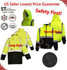 Kyпить Hi Vis Insulated Safety Bomber Reflective Jacket Road Work HIGH VISIBILITY 18 на еВаy.соm