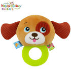 New baby rattle plush toy teether rattle toys