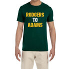 Green Bay Packers Aaron Rodgers To Davante Adams T-Shirt $15.99 USD on eBay