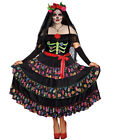 New Dreamgirl 10680X Plus Size Lady Of The Dead Costume