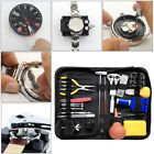 Watch Repair Tool Kit Watchmaker Back Case Link Remover Opener Spring Pin Bar image