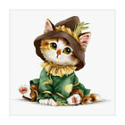 5D Diamond DIY Painting Embroidery Cross Stitch Flower Decor Home Animal Cat Dog