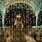 Best 3M Christmas Decorations - 300 LED 3*3 m Christmas Light Wedding Party Review