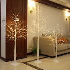LED Warm Light Xmas Birch Tree Branches Christmas Decor Festival/Party 4/5/6 Ft