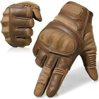 Assault Hard Knuckle Full Finger Tactical Gloves Hunting Airsoft Shooting combat