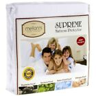 Mellanni Deep Fitted Mattress Protector - Bed Bug  Waterproof, Hypoallergenic
