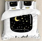 Dreams Quote Duvet Cover Set Twin Queen King Sizes with Pillow Shams