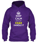 Chad Calm - Keep And Let Handle It Gildan Hoodie Sweatshirt
