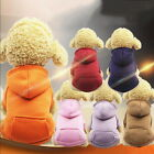 Winter Lovely Pet Dog Cat Puppy Sweater Hoodie Coat Jacket Pet Costume Clothes
