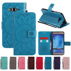 For Samsung Galaxy J7 Neo/J7 Core 2017 Leather Card Wallet Flip Stand Case Cover