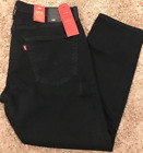 NWT LEVI'S 502 REGULAR TAPER FIT 1% STRETCH JEANS DARK BLUE