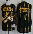Toronto Raptors #1 Tracy McGrady Retro Mesh Basketball Jersey Black Size: S-XXL on eBay